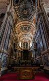 Se-domkyrkan av Evora, Portugal Arkivbilder