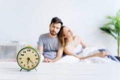 Se duerme más de la cuenta el par Fotografía de archivo libre de regalías