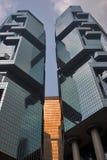 Se elevan los rascacielos. fotografía de archivo libre de regalías