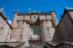 se för slott Royaltyfria Foton