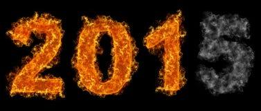 Se fanant 2015 ans Photo libre de droits