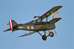 Se5a fighter plane Stock Image