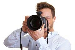 se fotografprofessionelln Arkivbild