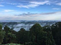 Se från berget Royaltyfria Bilder