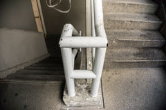 Se garer d'escaliers Photo stock