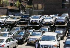 Se garer dans NY Photographie stock libre de droits