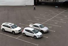 Se garer pour les voitures handicapées photographie stock