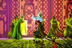 Se hertigen--Den historiska magiska magin för stilsång- och dansdrama - Gan Po Arkivfoto