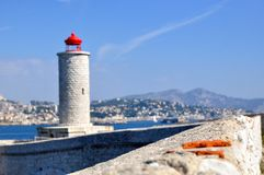 Se ilha, Marselha, França Imagens de Stock Royalty Free