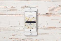 SE iPhone της Apple Στοκ εικόνα με δικαίωμα ελεύθερης χρήσης