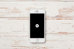 SE iPhone Яблока Стоковое Изображение