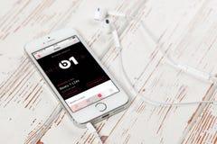 SE iPhone Яблока Стоковые Фото