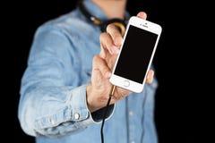 SE iPhone Яблока Стоковое фото RF