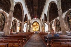 Se katedra, Funchal Fotografia Royalty Free