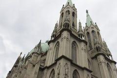 Se-Kathedrale in Sao Paulo, Brasilien Stockfotos