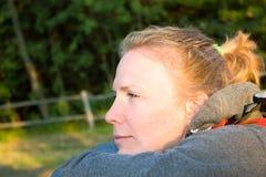 se kvinnabarn Fotografering för Bildbyråer