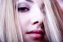 se kvinnan Fotografering för Bildbyråer