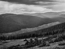 Se in mot montana Fotografering för Bildbyråer