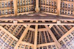 Se in mot taket Arkivbild