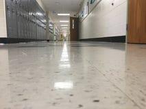 Se ner korridoren Royaltyfria Bilder
