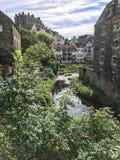 Se ner vatten av Leith Arkivfoton