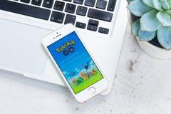 SE novo de Iphone 5 fotos de stock royalty free