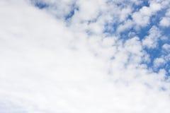 Se nubla blanco Fotos de archivo
