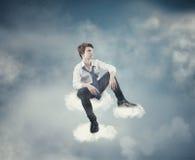 Se nubla el cielo Imagen de archivo libre de regalías