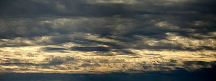 Se nubla panorama Fotos de archivo