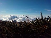 Se nubla un cielo Imagen de archivo libre de regalías