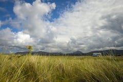 Se på den Carrickfinn flygplatsen Co Donegal arkivbilder