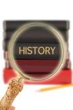 Se in på utbildning - historia royaltyfri foto