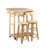 Se plier et table mobile Photo libre de droits