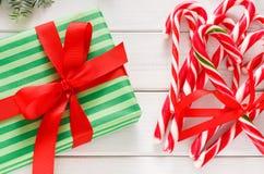 Se préparant au fond de Noël, vue supérieure Photo stock