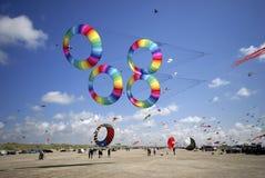 Se réunir d'aviateurs de cerf-volant image libre de droits