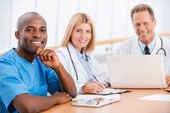 Se réunir de médecins Photographie stock libre de droits