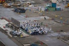 Se réunir japonais de travailleurs Photographie stock