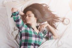 Se réveiller d'un sommeil profond Image stock