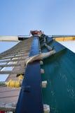 Windmillen seglar Arkivfoton
