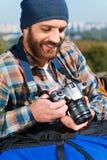 Se rappeler le voyage entier Photographie stock