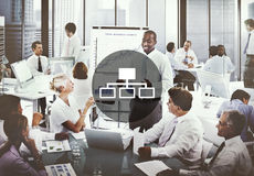 Se relier de connexion relient le concept d'interface d'Internet Images libres de droits