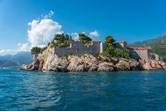 Se San Stephane från havet Royaltyfria Bilder