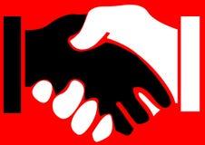 Se serrer la main Photos libres de droits
