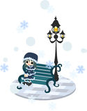 Se snö Royaltyfri Foto