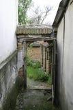 Se till och med den öppna dörren Royaltyfria Foton