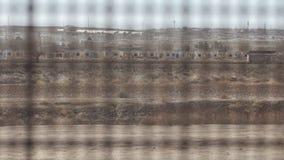 Se till och med staketet på den USA- och Mexico gränsen 2 arkivfilmer
