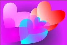 Süße Träume der Liebe Stockfoto