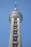 se upp det orientaliska pärlemorfärg tornet Fotografering för Bildbyråer
