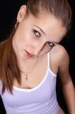 se upp tonåringen Royaltyfria Bilder