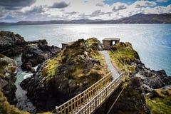 Se ut stolpen till havet arkivbilder